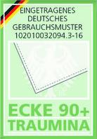 Traumina ECKE 90+ - Eingetragenes deutsches Gebrauchsmuster